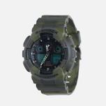 Мужские наручные часы CASIO G-SHOCK GA-100MM-3A Camo фото- 1