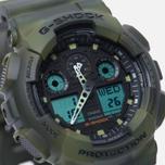 Мужские наручные часы CASIO G-SHOCK GA-100MM-3A Camo фото- 2