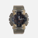 Мужские наручные часы CASIO G-SHOCK GA-100MM-5A Desert Camo фото- 0