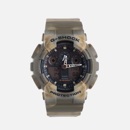 Мужские наручные часы CASIO G-SHOCK GA-100MM-5A Desert Camo