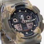 Мужские наручные часы CASIO G-SHOCK GA-100MM-5A Desert Camo фото- 2