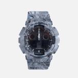 Мужские наручные часы CASIO G-SHOCK GA-100MM-8A Grey фото- 0
