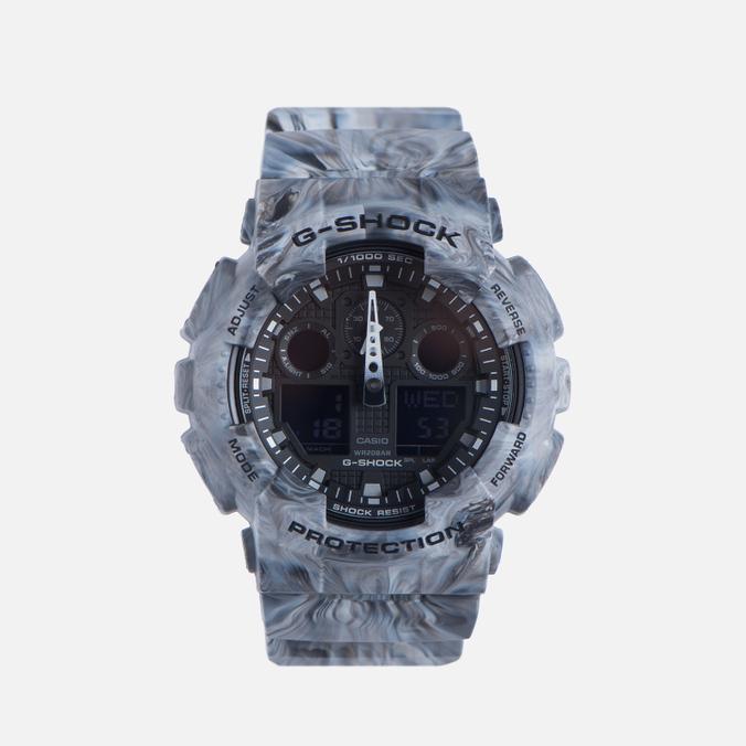 Мужские наручные часы CASIO G-SHOCK GA-100MM-8A Grey