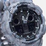 Мужские наручные часы CASIO G-SHOCK GA-100MM-8A Grey фото- 2