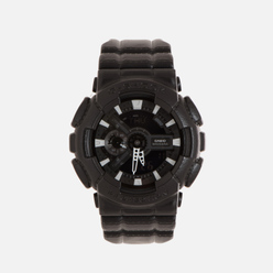 Наручные часы CASIO G-SHOCK GA-110BT-1A Black Leather Texture Series Black