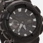 Наручные часы CASIO G-SHOCK GA-110BT-1A Black Leather Texture Series Black фото- 2