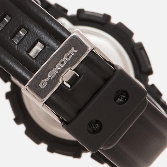 Наручные часы CASIO G-SHOCK GA-110BT-1A Black Leather Texture Series Black