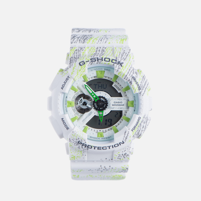 Мужские наручные часы CASIO G-SHOCK GA-110TX-7A White