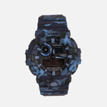Наручные часы CASIO G-SHOCK GA-700CM-2A Camouflage Series Blue фото- 0