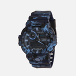 Наручные часы CASIO G-SHOCK GA-700CM-2A Camouflage Series Blue фото- 1