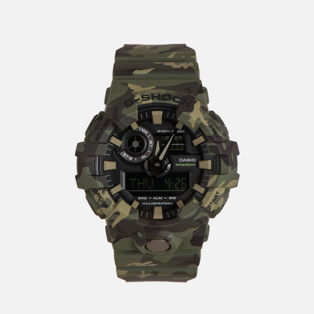 Мужские наручные часы CASIO G-SHOCK GA-700CM-3A Camouflage Series Green