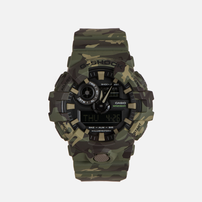 Наручные часы CASIO G-SHOCK GA-700CM-3A Camouflage Series Green