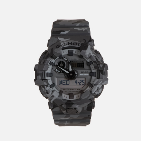 Мужские наручные часы CASIO G-SHOCK GA-700CM-8A Camouflage Series Grey