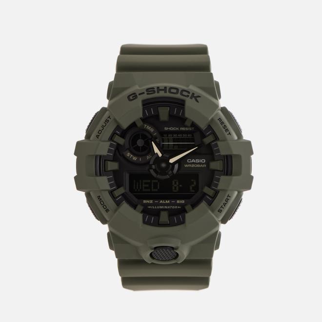 Наручные часы CASIO G-SHOCK GA-700UC-3A Utility Color Collection Green