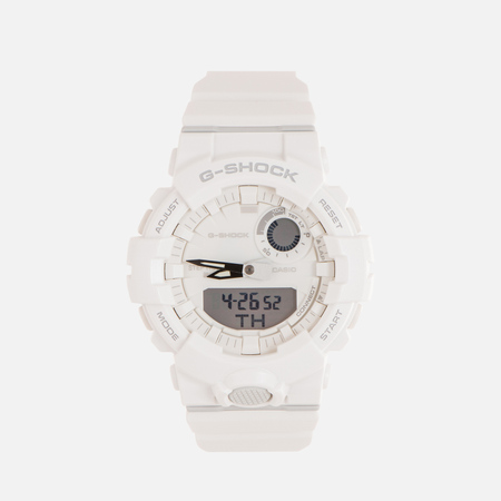 Мужские наручные часы CASIO G-SHOCK GBA-800-7A G-SQUAD Series White