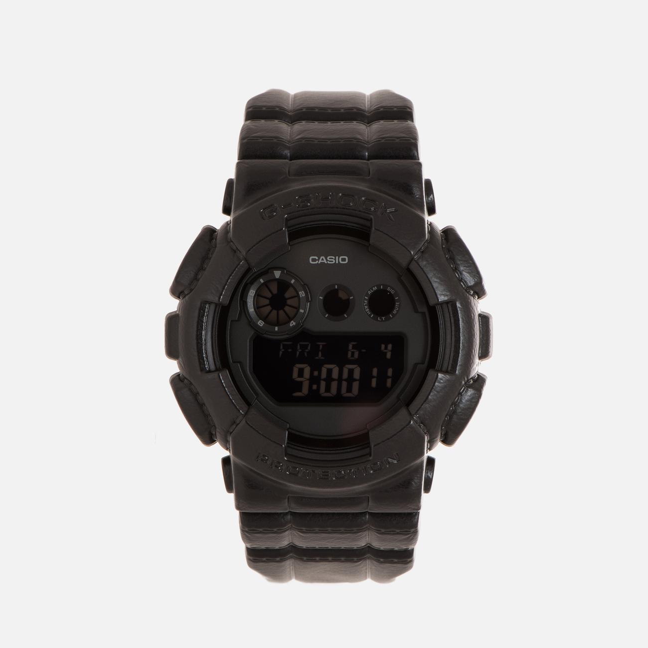 Наручные часы CASIO G-SHOCK GD-120BT-1E Black Leather Texture Series Black