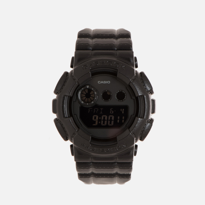Наручные часы CASIO G-SHOCK GD-120BT-1E Black Leather Texture Series Black