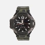 Мужские наручные часы CASIO G-SHOCK Master GA-1100SC-3A Gravitymaster Series Olive Green фото- 0
