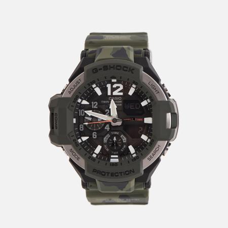 Мужские наручные часы CASIO G-SHOCK Master GA-1100SC-3A Gravitymaster Series Olive Green