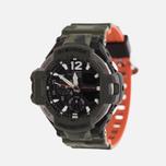 Мужские наручные часы CASIO G-SHOCK Master GA-1100SC-3A Gravitymaster Series Olive Green фото- 1