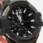 Мужские наручные часы CASIO G-SHOCK Master GA-1100SC-3A Gravitymaster Series Olive Green фото- 2
