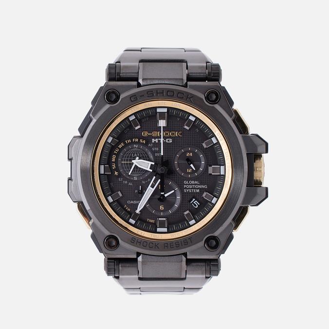 Мужские наручные часы Casio G-SHOCK MTG-G1000GB-1A Black/Gold