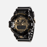 Наручные часы CASIO G-SHOCK GA-710GB-1AER Black/Gold фото- 1