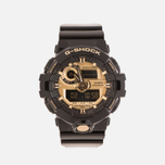 Мужские наручные часы CASIO G-SHOCK No Comply GA-710GB-1AER Black/Gold фото- 0