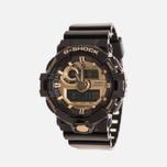 Мужские наручные часы CASIO G-SHOCK No Comply GA-710GB-1AER Black/Gold фото- 1