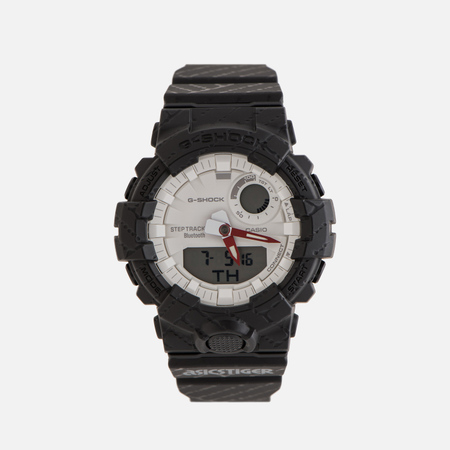 Мужские наручные часы CASIO G-SHOCK x ASICS GBA-800AT-1A Black/White