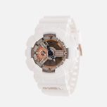 Мужские наручные часы CASIO G-SHOCK x DJ Dash Berlin GA-110DB-7A White/Rose Gold фото- 1