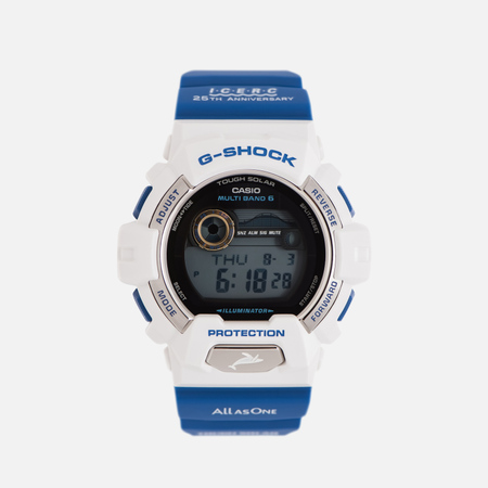 Мужские наручные часы CASIO G-SHOCK x I.C.E.R.C. GWX-8903K-7J Love The Sea And The Earth Blue/White