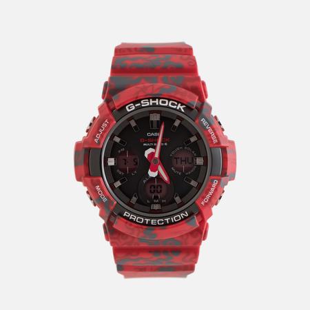 Мужские наручные часы CASIO G-SHOCK x Jahan Loh GAW-100CG-4A Vermilion Phoenix