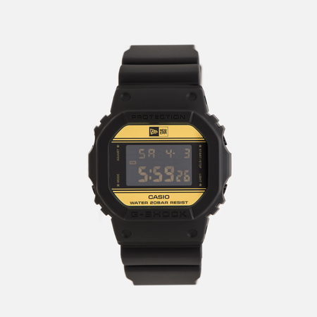 Мужские наручные часы CASIO G-SHOCK x New Era DW-5600NE-1ER Black/Gold