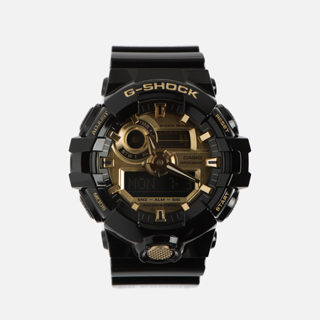 Мужские наручные часы CASIO G-SHOCK No Comply GA-710GB-1AER Black/Gold