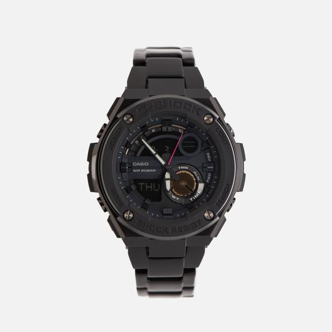 Мужские наручные часы CASIO G-SHOCK x Robert Geller G-STEEL GST-200RBG-1A Black