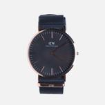 Мужские наручные часы Daniel Wellington Classic Black Cornwall Rose Gold фото- 0