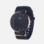 Мужские наручные часы Daniel Wellington Classic Black Cornwall Rose Gold фото- 1