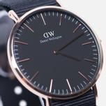 Мужские наручные часы Daniel Wellington Classic Black Cornwall Rose Gold фото- 2