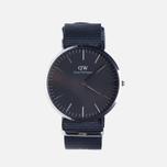 Мужские наручные часы Daniel Wellington Classic Black Cornwall Silver фото- 0