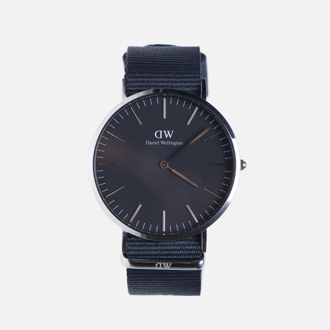 Мужские наручные часы Daniel Wellington Classic Black Cornwall Silver