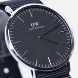 Мужские наручные часы Daniel Wellington Classic Black Cornwall Silver фото- 2