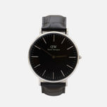 Мужские наручные часы Daniel Wellington Classic Black Reading Silver фото- 0
