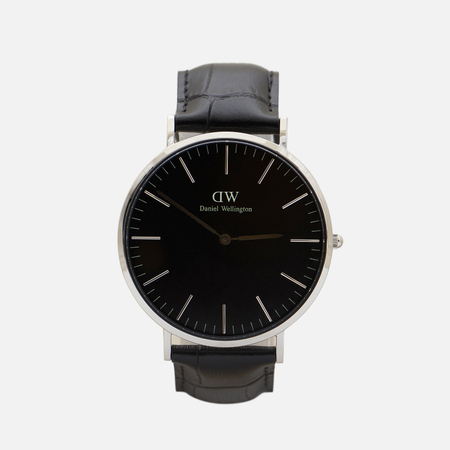 Мужские наручные часы Daniel Wellington Classic Black Reading Silver