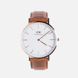 Мужские наручные часы Daniel Wellington Classic Durham Rose Gold фото- 0