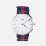 Мужские наручные часы Daniel Wellington Classic Oxford Rose Gold фото- 0
