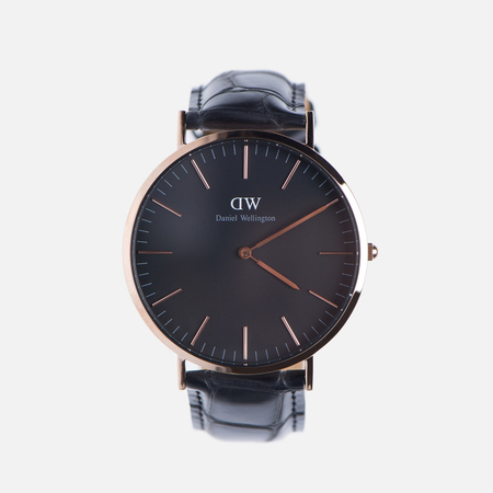 Мужские наручные часы Daniel Wellington Classic Black Reading Rose Gold