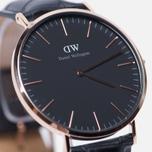 Мужские наручные часы Daniel Wellington Classic Black Reading Rose Gold фото- 2