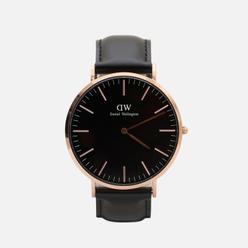 Наручные часы Daniel Wellington Classic Sheffield Black/Rose Gold/Black
