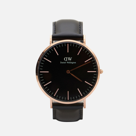 Мужские наручные часы Daniel Wellington Classic Black Sheffield Rose Gold